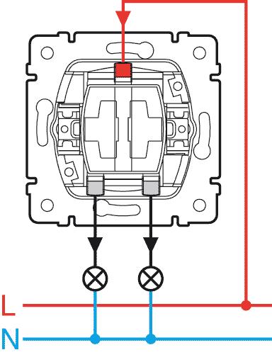 Vypínač č.5 (lustrový vypínač)