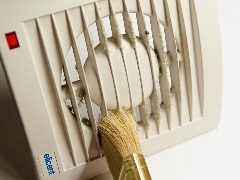 Zabudované ventilátory