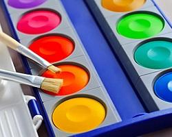 Vodové a temperové farby