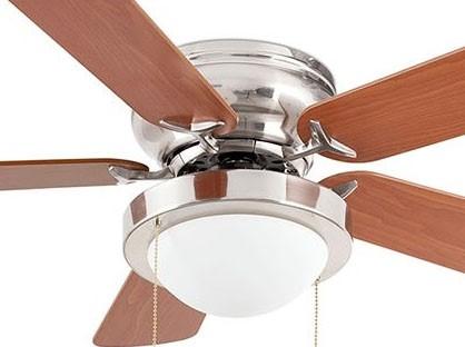 stropný ventilátor s osvetlením