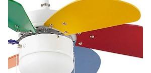 ventilátor so svietidlom