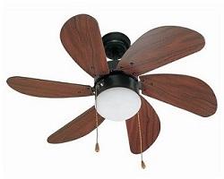 Čo sú to stropné ventilátory a na čo slúžia