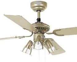 Stropné ventilátory so svetlom