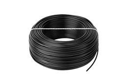Kábel CYA 1x1,0 čierny (H05V-K) lanko (100m)
