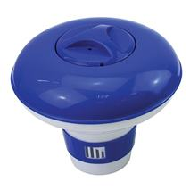 Bazénový plavák malý, modrý, na 20g tablety