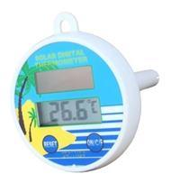 Solárny digitálny bazénový teplomer