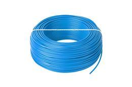 Kábel CYA 1x1,0 modrý (H05V-K) lanko (100m)
