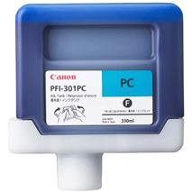 Cartridge Canon PFI-301PC, foto azúrová (photo cyan), kompatibilný