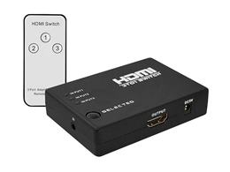 Zlučovač HDMI 3x1 mini v 1.4 + DO