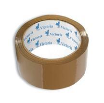 Baliaca páska, 50 mm x 60 m, VICTORIA, hnedá, (6 ks/bal.)