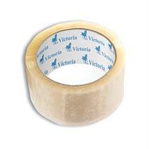 Baliaca páska, 50 mm x 60 m, VICTORIA, priehľadná, (6 ks/bal)
