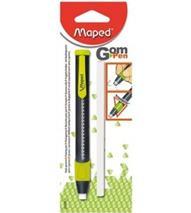 """Výsuvná guma, s náhradnou náplňou, MAPED \""""Gom-Pen"""