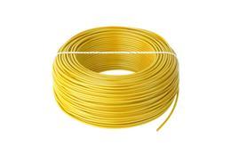 Kábel CYA 1x0,75 žltý (H05V-K) lanko (100m)