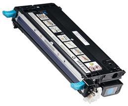 Toner Dell 593-10166, RF012, azúrová (cyan), originál