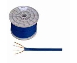 Kábel tienený 2x3mm-modrý (100m)