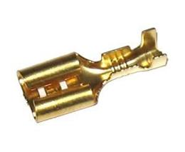 Konektor FASTON-2,5 zásuvka (6,3mm) (100ks)