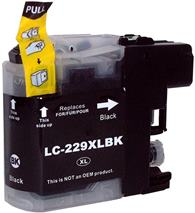 Cartridge Brother LC-229XL black - kompatibilný