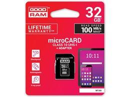 Karta micro SDHC 32GB Goodram class 10 UHS1