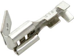 Konektor FASTON zásuvka 6,3mm (100ks)