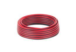 Kábel REPRO. 2x 0,75mm CCA čier-červ(10m)