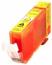 Cartridge Canon CLI-521Y, žltá (yellow), alternatívny