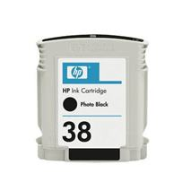 Cartridge HP 38 (C9413A), foto čierna (photo black), kompatibilný