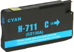 Cartridge HP 711 (CZ130A) cyan - kompatibilný