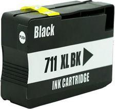 Cartridge HP 711 (CZ133A) black - kompatibilný