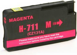 Cartridge HP 711 (CZ131A) magenta - kompatibilný