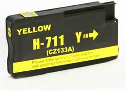 Cartridge HP 711 (CZ132A) yellow - kompatibilný