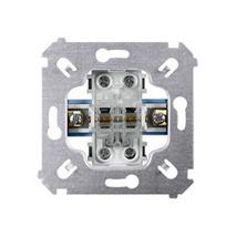 Vypínač Simon 54 dvojitý schodiskový č.5B (6+6) (strojček) 10AX 250V