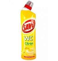 Tekutý čistiaci a dezinfekčný prostriedok SAVO WC citrón 750ml