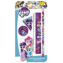 Derform, set školských potrieb (4 ks), My Little Pony (DFM-ZPS4LP10)