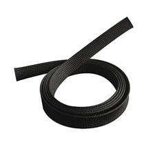 Polyesterový pás na káble A/V 1m/400mm čierny