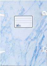 Spisová doska, A4, mramorová, modrá, (20 ks/bal)