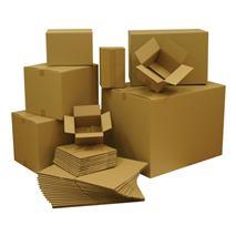 Kartónová krabica 3VVL, 200x200x100 mm, 25 ks/bal