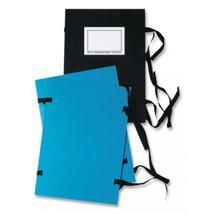 Spisové dosky A3 so šnúrkami modré
