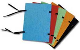 Spisové dosky A4 modrý prešpán
