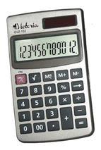 Vrecková kalkulačka, 12-miestny display