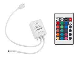Kontroler na RGB LED pasy IR