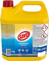 Tekutý dezinfekčný prípravok SAVO 4L