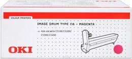 valec OKI Type C6 C5100/5200/5300/5400 magenta