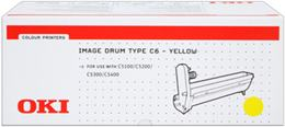valec OKI Type C6 C5100/5200/5300/5400 yellow