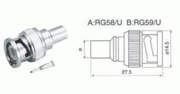 Konektor BNC RG6-U skrutkovací