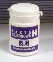 Silikonova pasta H 100g AG(termovodivá)