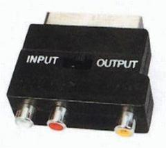 Redukcia SCART - 3x RCA + prep.