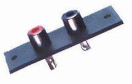 Zásuvka RCA dvojitá panelová