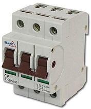 Hlavný vypínač na DIN lištu R7-3P-100