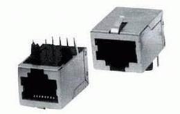 Konektor RJ45 (8P8C) do DPS tienený