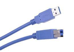 Kábel USB 3.0 AM/ BM 1.8m